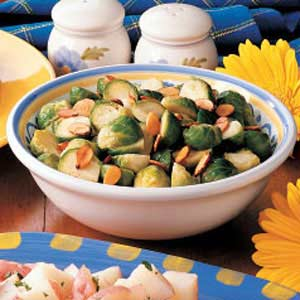 Almond Brussels Sprouts Recipe