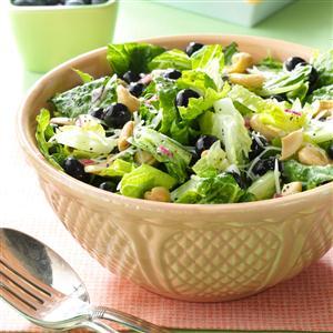Blueberry Romaine Salad Recipe