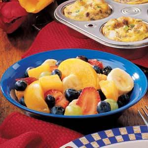 Blueberry Fruit Salad Recipe