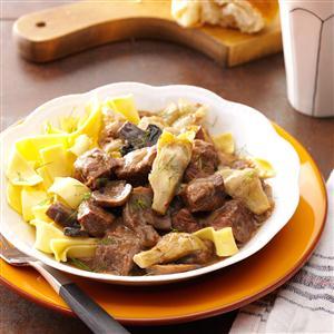 Artichoke Beef Stew Recipe