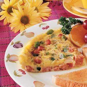 Microwave Frittata Recipe