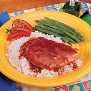 Quicker Barbecued Chicken 'n' Rice Recipe