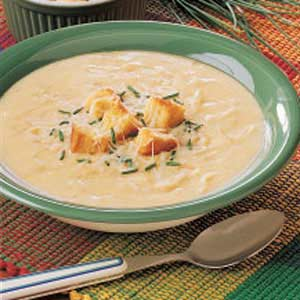 Creamy Swiss Onion Soup Recipe