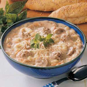 Meatball Mushroom Soup Recipe