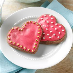 Chocolate-Raspberry Cutout Cookies Recipe