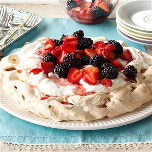 Two-Berry Pavlova Recipe