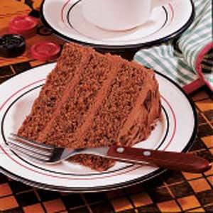 Chocolate Chocolate Chip Cake Recipe
