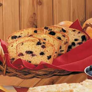 Blueberry Orange Bread Recipe