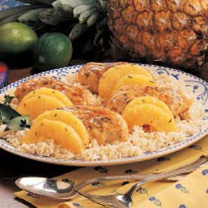 Tangy Pineapple Chicken Recipe
