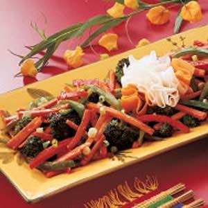 Stir-Fried Vegetables Recipe