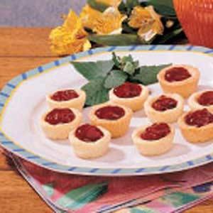 Tiny Shortbread Tarts Recipe