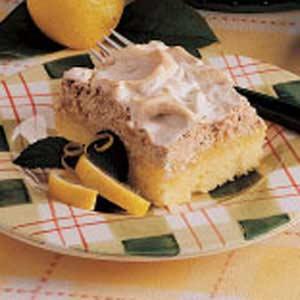 Lemon Meringue Torte Recipe