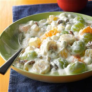 Overnight Fruit Salad Recipe