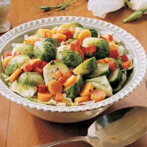 Lemony Sprouts Salad Recipe