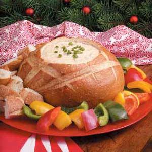 Potluck Bread Pot Fondue Recipe