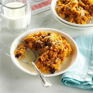 Pumpkin-Pecan Baked Oatmeal Recipe