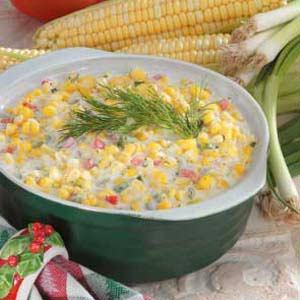 Festive Corn Recipe
