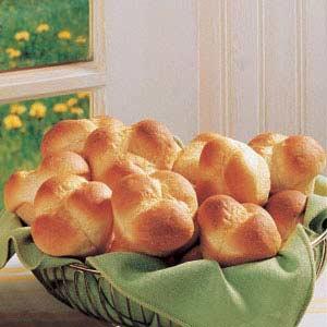 Cloverleaf Potato Rolls Recipe