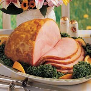 Mustard-Glazed Ham Recipe