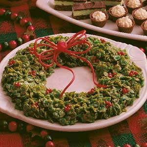 Holiday Wreath Recipe