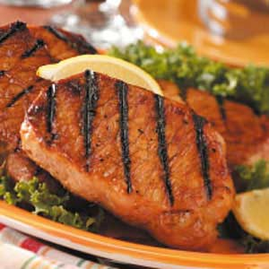Honey-Garlic Pork Chops Recipe