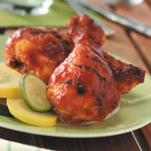 Saucy Barbecued Chicken Recipe