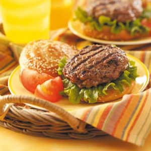 Wonderburgers for Two Recipe