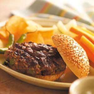 Zesty Cajun Burgers Recipe