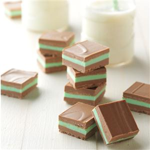 Layered Mint Candies