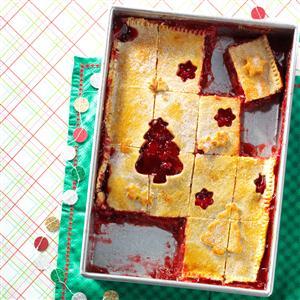 Apple Cranberry Cutout Pie Recipe
