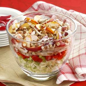 Grilled Chicken Cabbage Salad Recipe