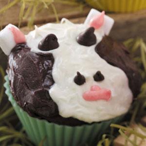 Moo-Cow Cupcakes Recipe