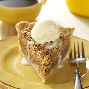 Vermont Maple Oatmeal Pie Recipe