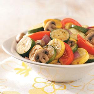 Potluck Summer Squash and Zucchini Side Dish Recipe