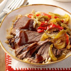 Pressure Cooker Pepper Steak Recipe