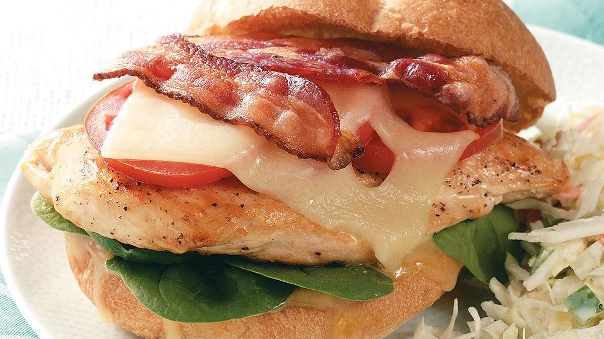 Bacon-Chicken Sandwiches