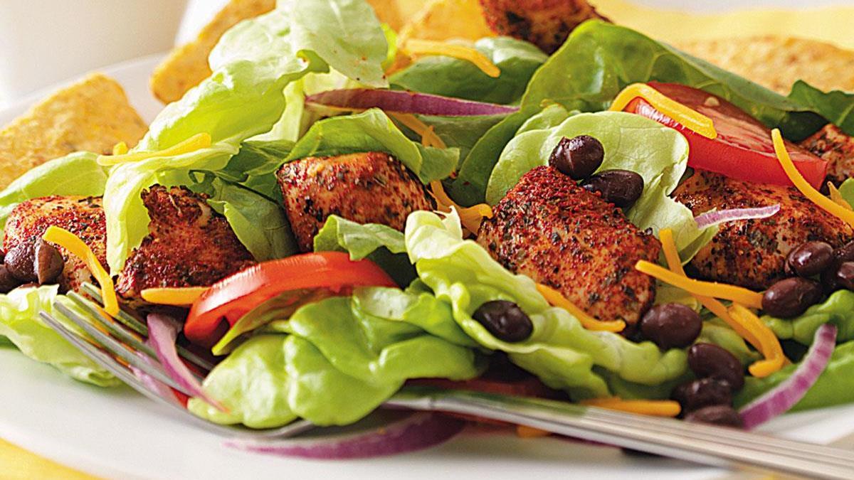 Chicken Fiesta Salad Recipe Taste Of Home Food's chicken fiesta 6, etc. chicken fiesta salad