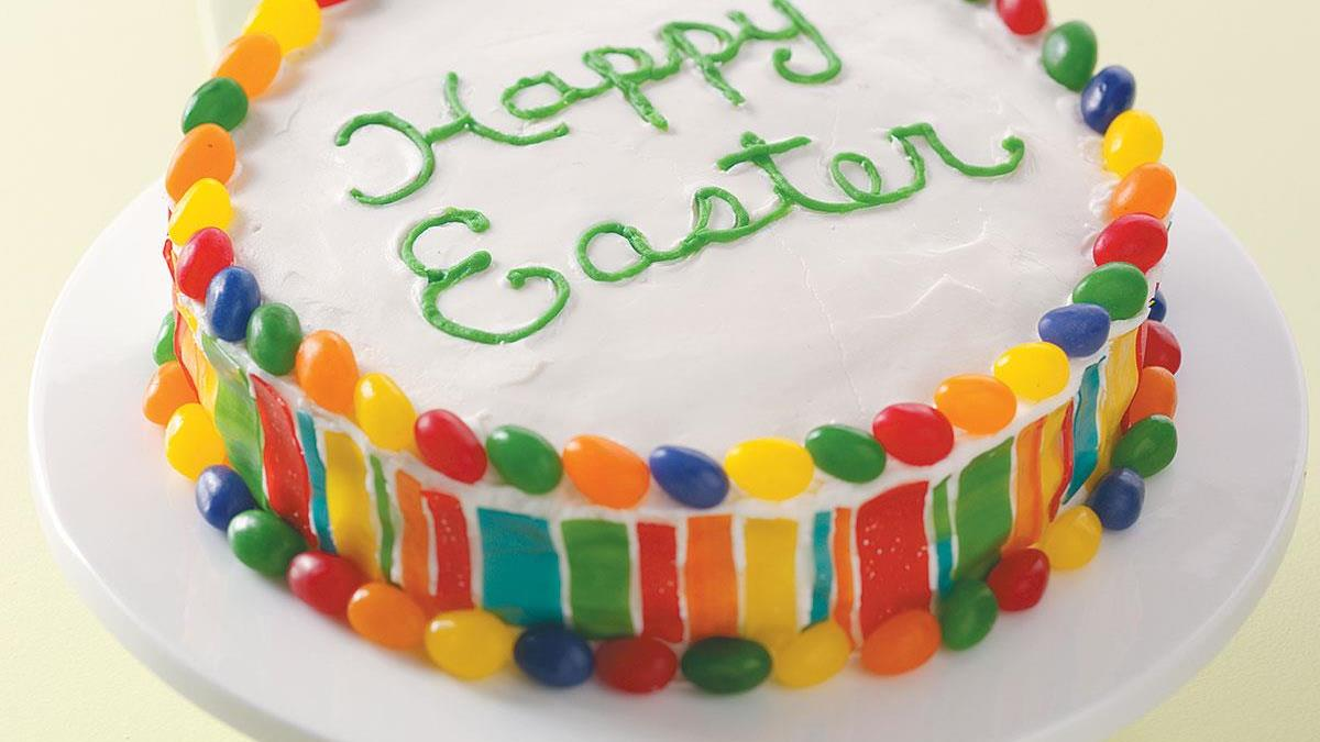 Colorful Easter Cake Recipe Taste Of Home