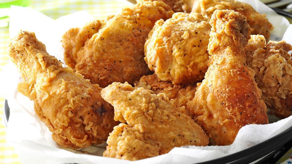 crispy fried chicken recipe taste of home