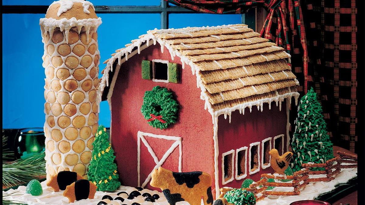 Gingerbread Barn Recipe