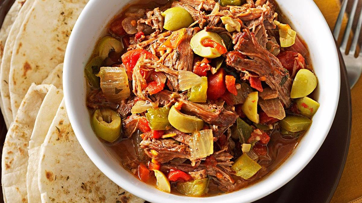Easy ropa vieja stew recipe taste of home forumfinder Image collections