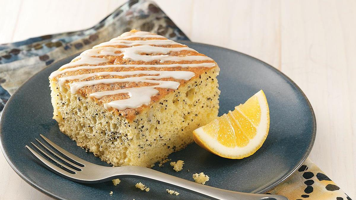 Grandmas Lemon Poppy Seed Cake Recipe Taste of Home