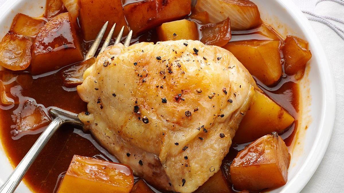 Honey Hoisin Chicken & Potatoes