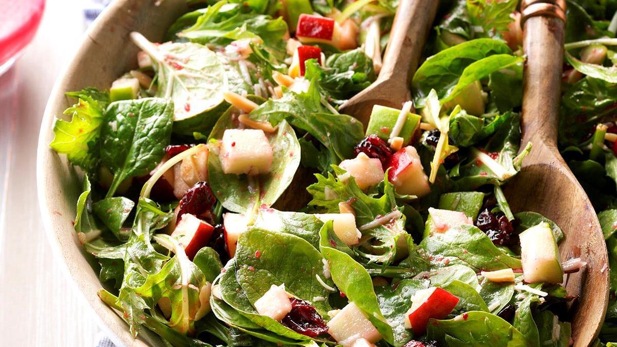 Christmas Salad.Merry Berry Salad