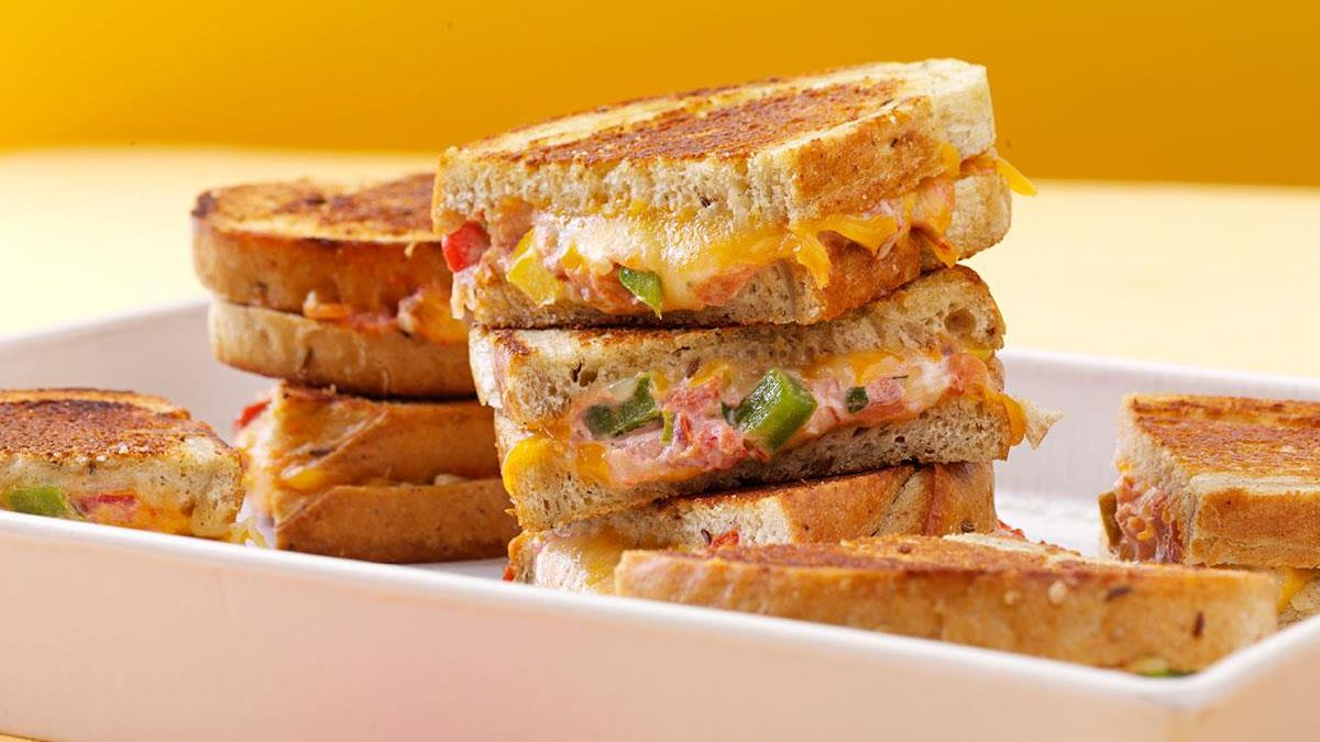 Mexican Grilled Cheese Sandwiches Recipe How To Make It Taste Of Home