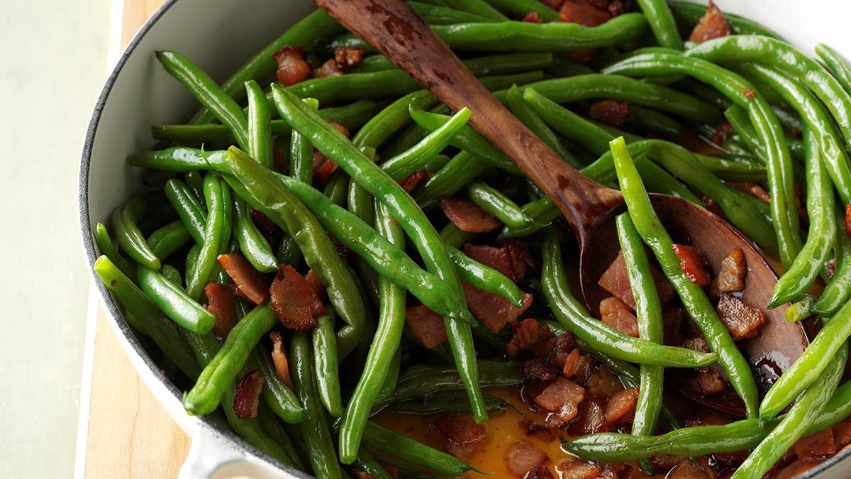 Old fashioned pole beans recipe 45