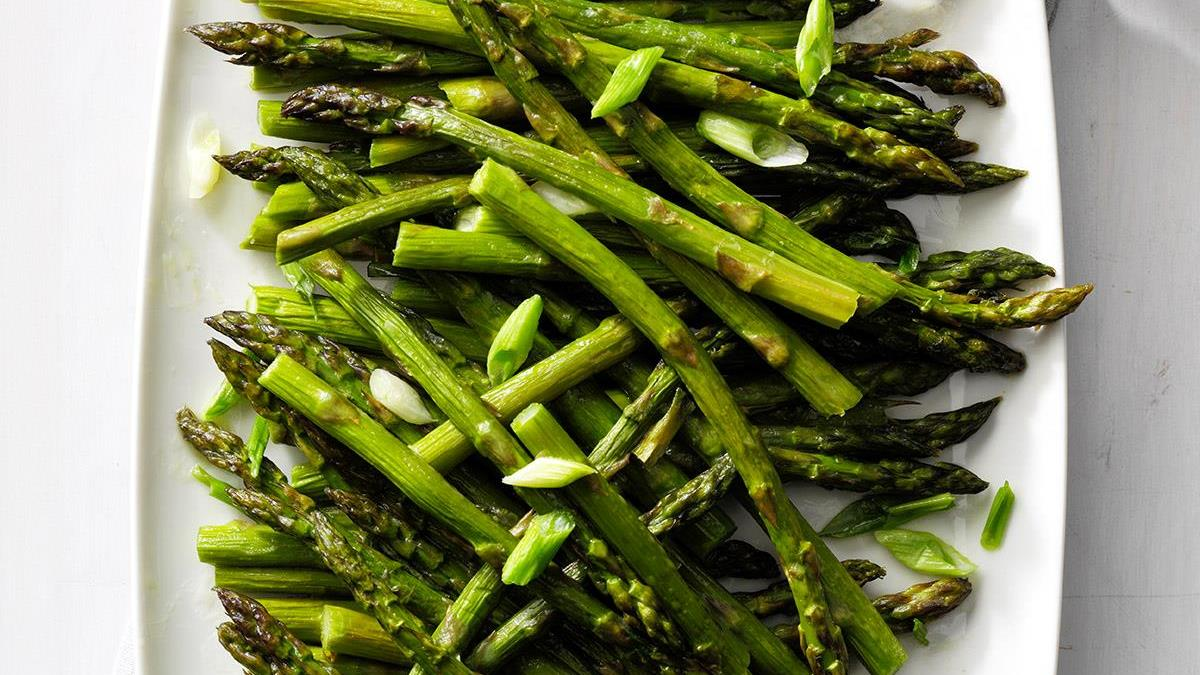 Oven roasted asparagus recipe taste of home ccuart Gallery
