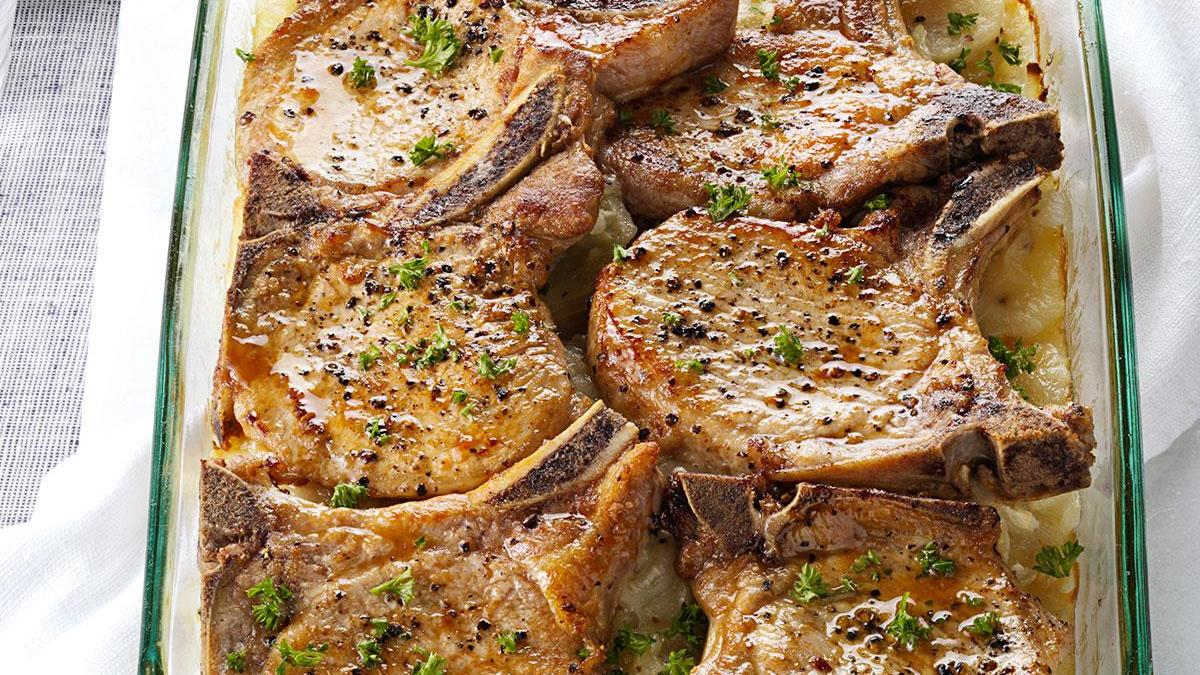 4 pork chops recipes
