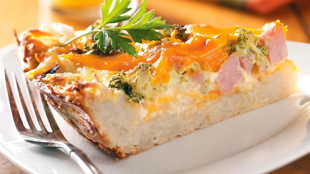Potato crust quiche taste of home forumfinder