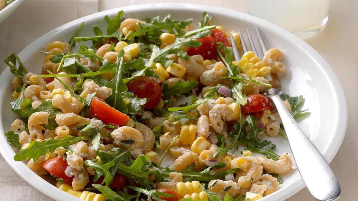 Ricotta, Tomato & Corn Pasta Recipe | Taste of Home